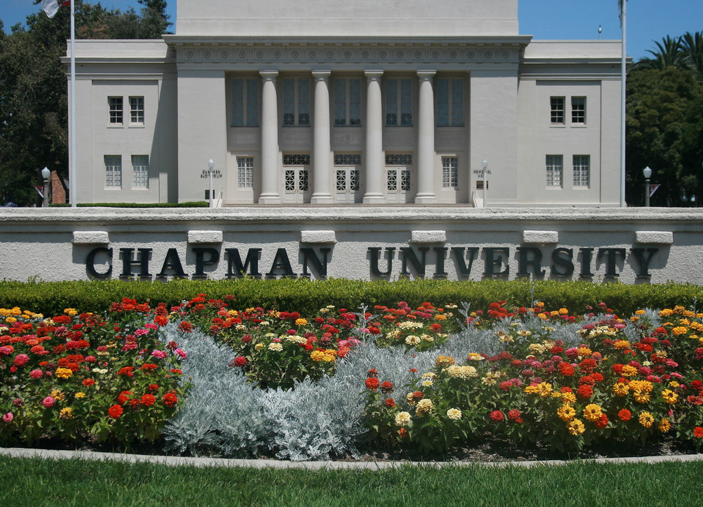 Chapman University, Orange, CA.  Image Copyright 2010 by DJB.  All Rights Reserved.