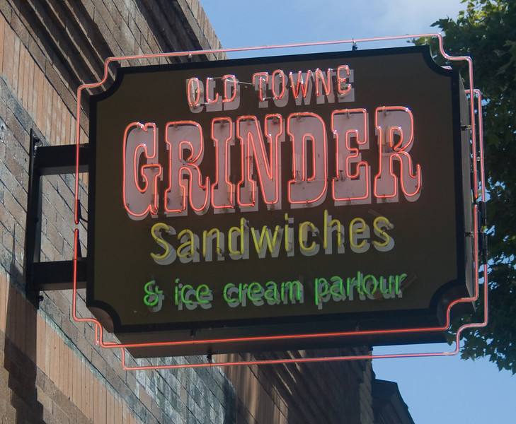 "Old Towne Grinder Sandwiches, Orange, CA.   <a href=""http://www.OldTowneGrinder.com"">http://www.OldTowneGrinder.com</a><br /> Image Copyright 2010 by DJB.  All Rights Reserved."