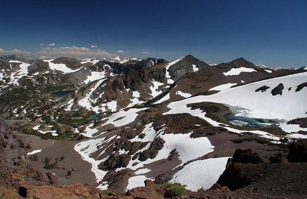 10,920 ft. Near Levitt Peak.
