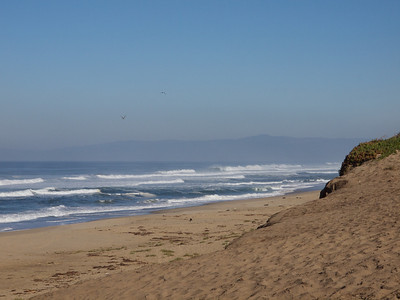 Marina State Beach looking toward Santa Cruz  Copyright 2011 Neil Stahl