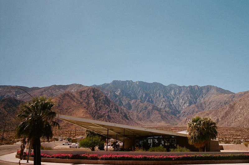 Palm Springs Visitor Center, Palm Springs, CA.  Designed by Albert Frey.