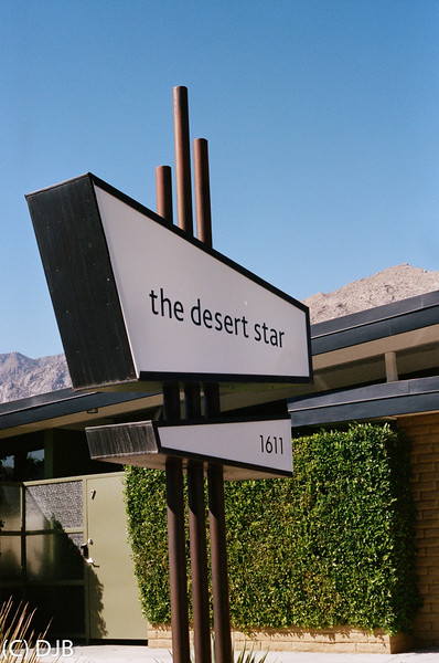 The Desert Star,  Palm Springs, CA.