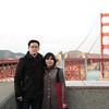 Uy 1st couple shot by the bridge