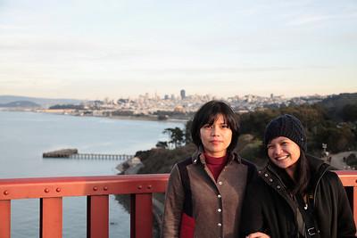 Pia in SF, December 2008