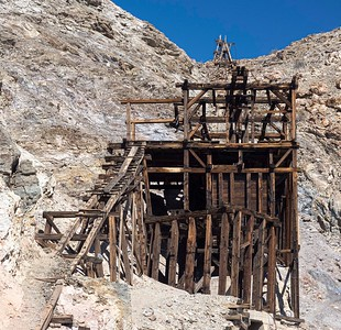 The Keane Wonder mine produced tons of gold. Jack Keane began digging in the early 1900's.