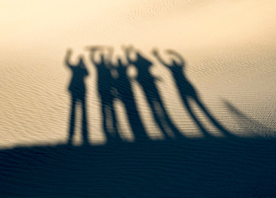 In the end, we were all very happy shadowy figures.