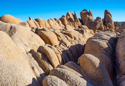 Rocks near White Tent campground