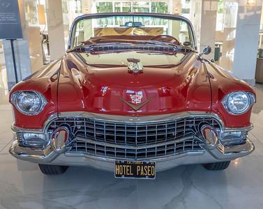 Hotel Paseo Lobby...Classic Cadillac