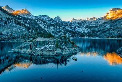 Lake Sabrina Sunrise 02
