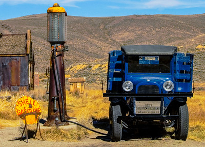 Bodie 23 Shell Station Truck