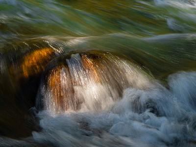 Rocks in the Merced River
