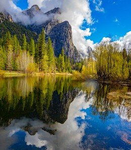 Reflections along the Merced