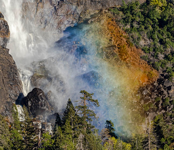 Bridal Fall Rainbow
