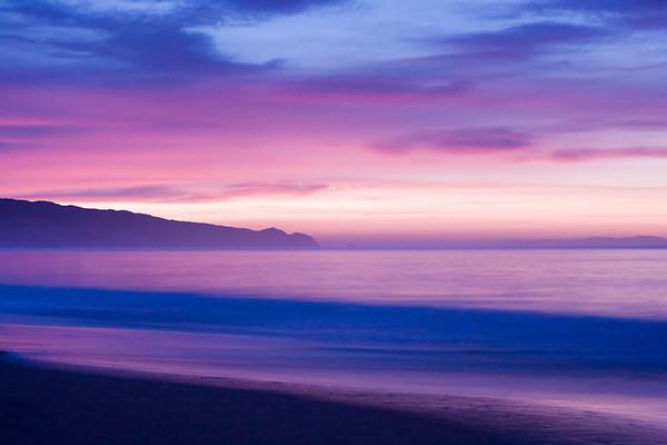 Sunrise at Limertone beach.
