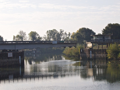 Bridge to Georgiana Slough  Copyright 2011 Neil Stahl