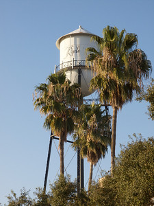 The more or less famous Ryde watertower  Copyright 2011 Neil Stahl