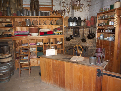 Store of Sutter's Fort  Copyright 2011 Neil Stahl