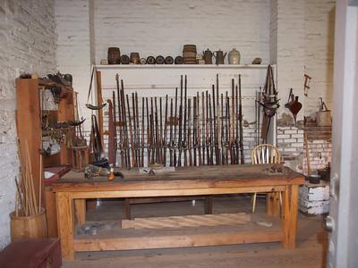 Gun repair room Copyright 2011 Neil Stahl
