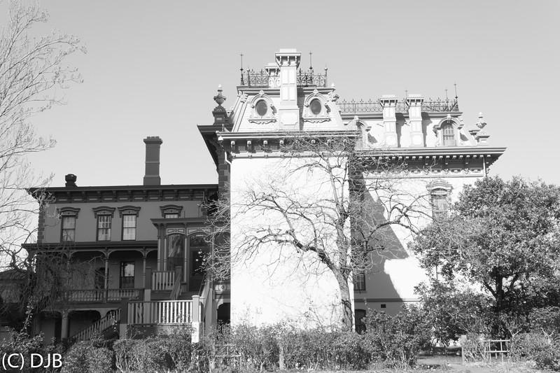 Leland Stanford Mansion, Sacramento, CA.