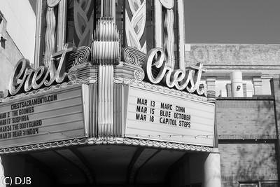Crest Theater, Sacramento, CA.