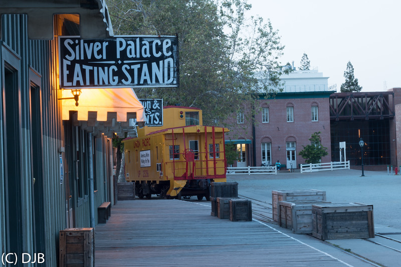 Old Sacramento, California.