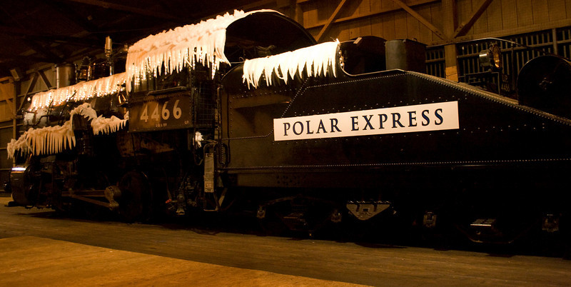 Polar Express, Old Sacramento, CA.  <br /> Image Copyright 2010 by DJB.  All Rights Reserved.