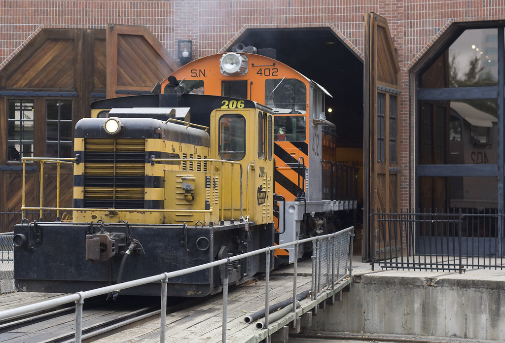California State Railroad Museum, Sacramento, CA. Image Copyright 2011 by DJB.  All Rights Reserved.
