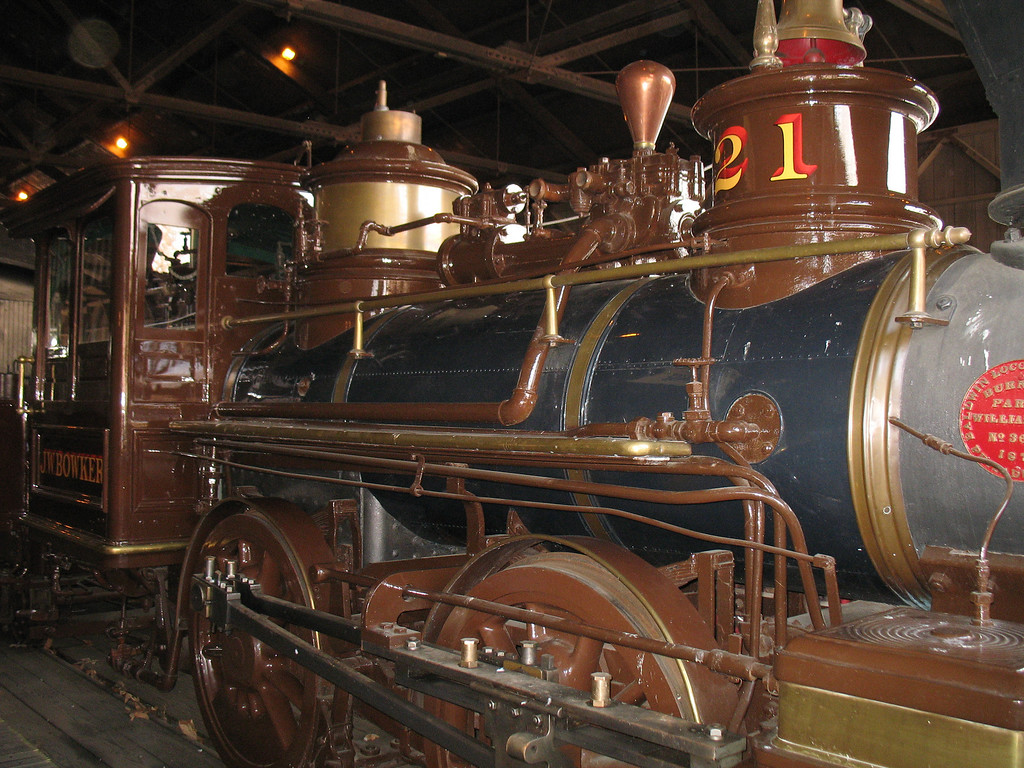 California State Railroad Museum, Sacramento, CA. Image Copyright 2007 by DJB.  All Rights Reserved.