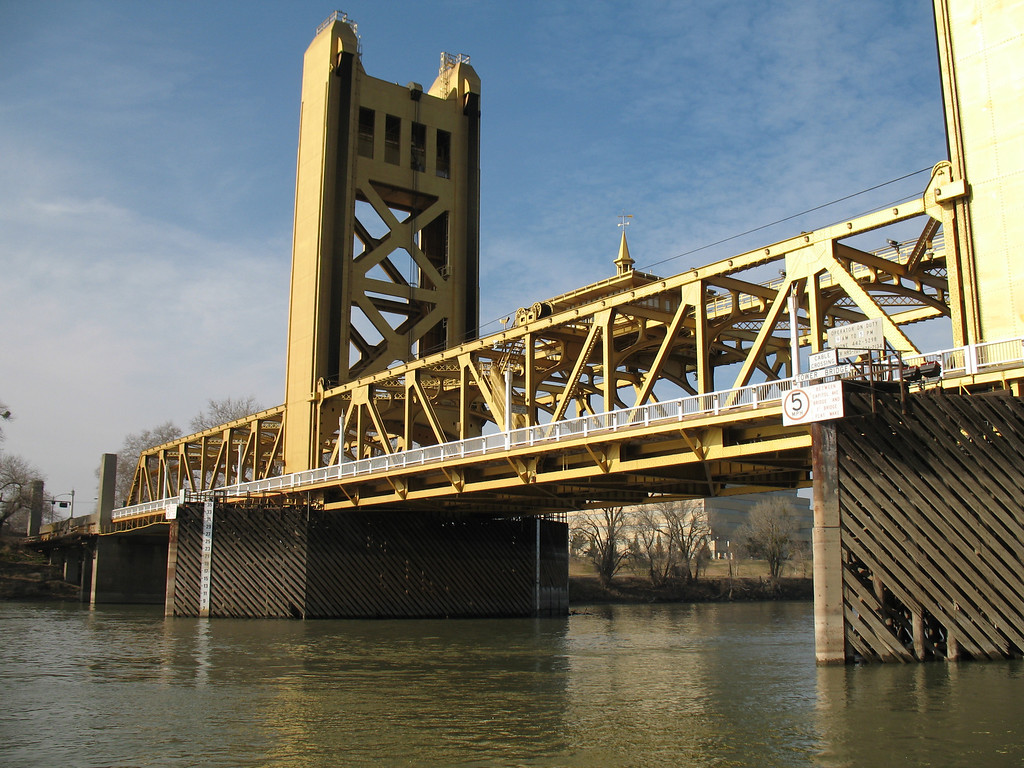 Tower Bridge, Sacramento, CA. Image Copyright 2007 by DJB.  All Rights Reserved.