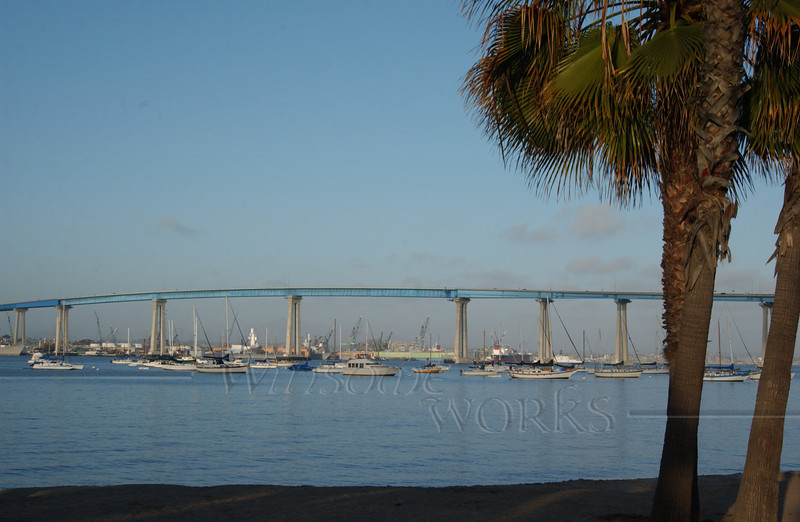 Bridge to Coronado Island, CA