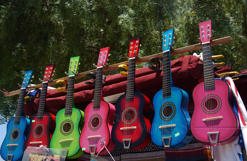 Guitars in San Diego Old Town
