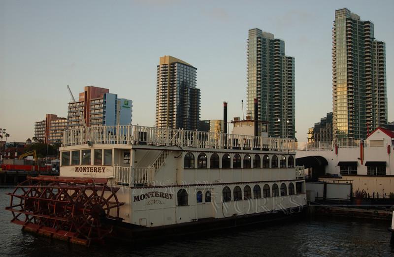 Riverboat in San Diego Harbor