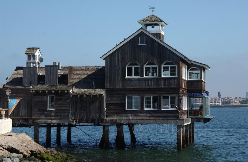 Restaurant in Seaport Village, San Diego