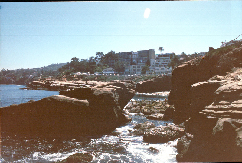 La Jolla Coast and Coves - La Jolla, CA  4-1-96