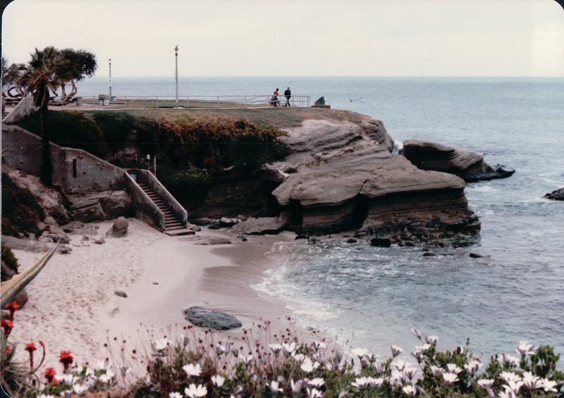 Cove - La Jolla, CA - 1/30/86