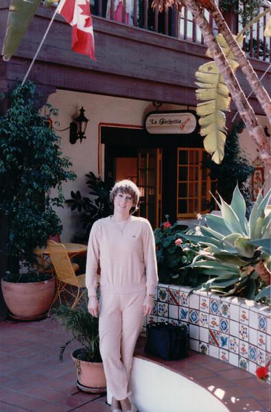 Donna at Esplanade - Olde Towne, San Diego, CA - 1/28/86