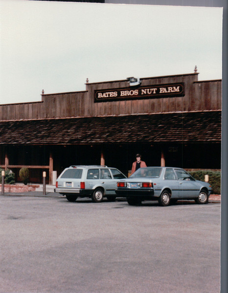 Bates Bros. Nut Farm - Center Valley, CA - 1/31/86
