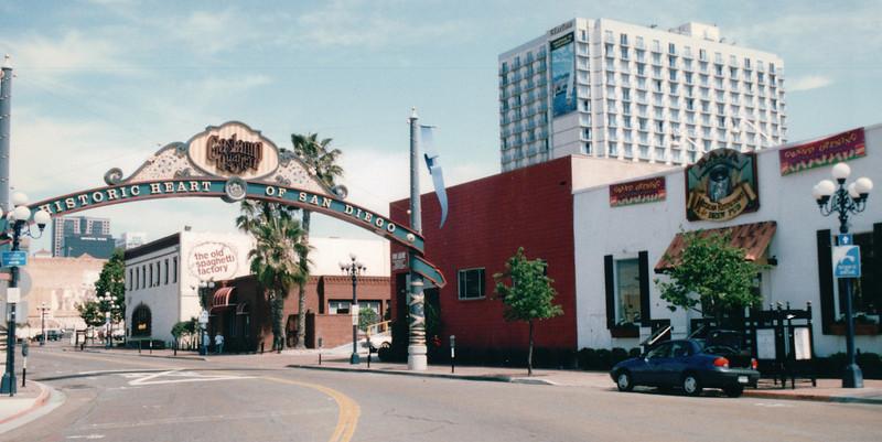 Gaslamp District - San Diego, CA  3-30-96