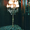 Unusual Lamp at Del Coronado Hotel, Coronado, CA  3-30-96