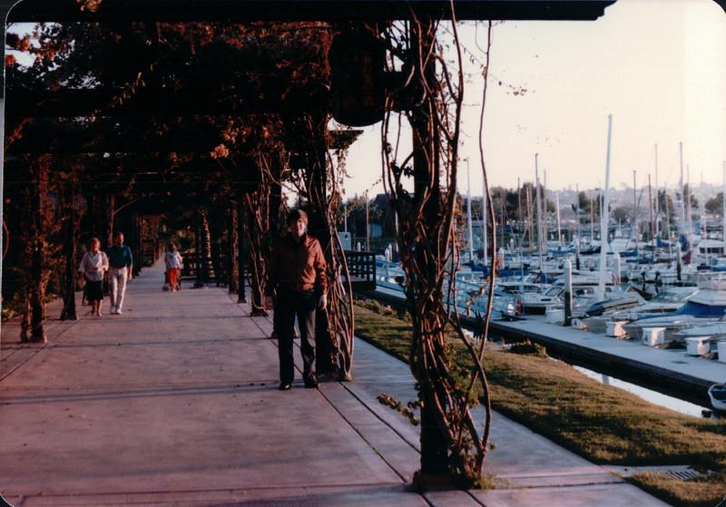 Marina Village, Mission Bay - San Diego, CA - 1/28/86