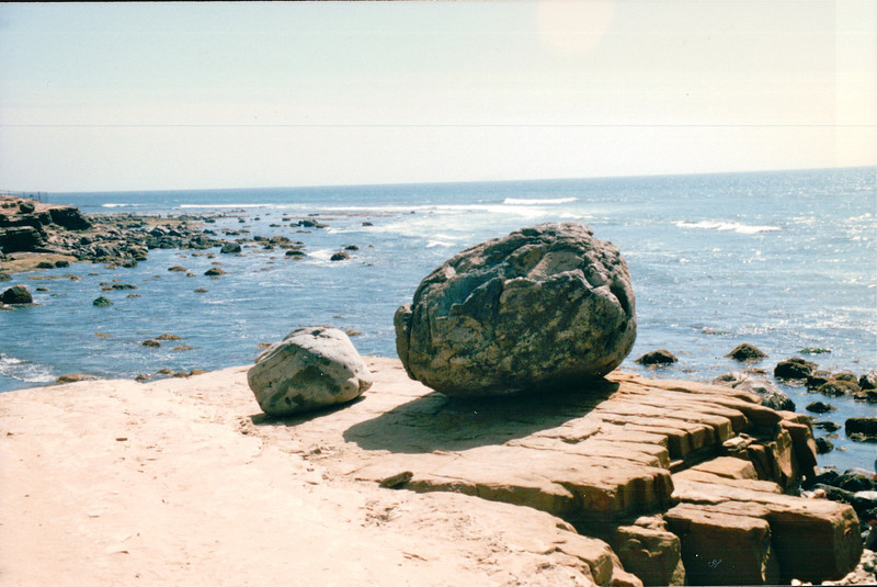 Tidepools Area - Cabrillo State Park - Point Loma, CA  3-30-96