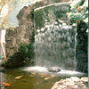 Waterfall and Fish Pond - Hanalei Hawaiian Hotel, San Diego, CA  4-1-96