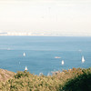 Sailboats - Cabrillo State Park - Point Loma, CA  3-30-96