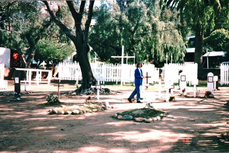 Graveyard in Old Town - San Diego, CA  3-30-96