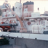 Mercy Ship in San Diego Harbor - 2/1/87