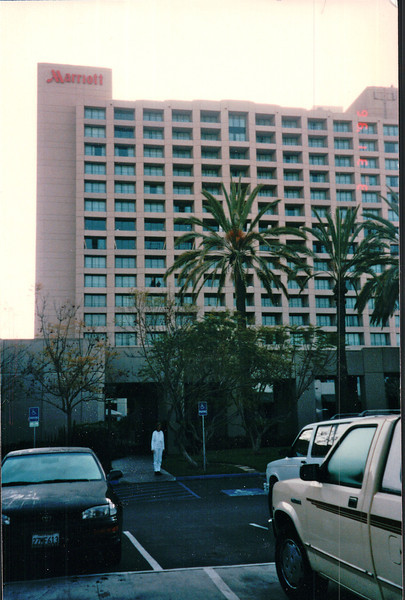 Marriott Misson Valley Hotel - Our Stay 3/29-3/31/96 - San Diego, CA