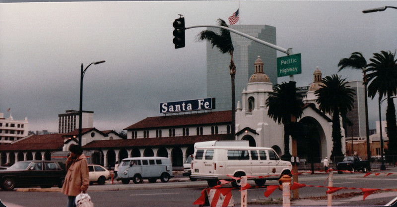 Pacific Highway Train Station - San Diego, CA - 1/30/86