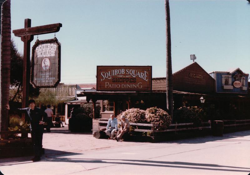 Squibob Square - Olde Towne, San Diego, CA - 1/28/86