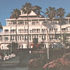 Beachside View of  Del Coronado Hotel, Coronado, CA  3-30-96
