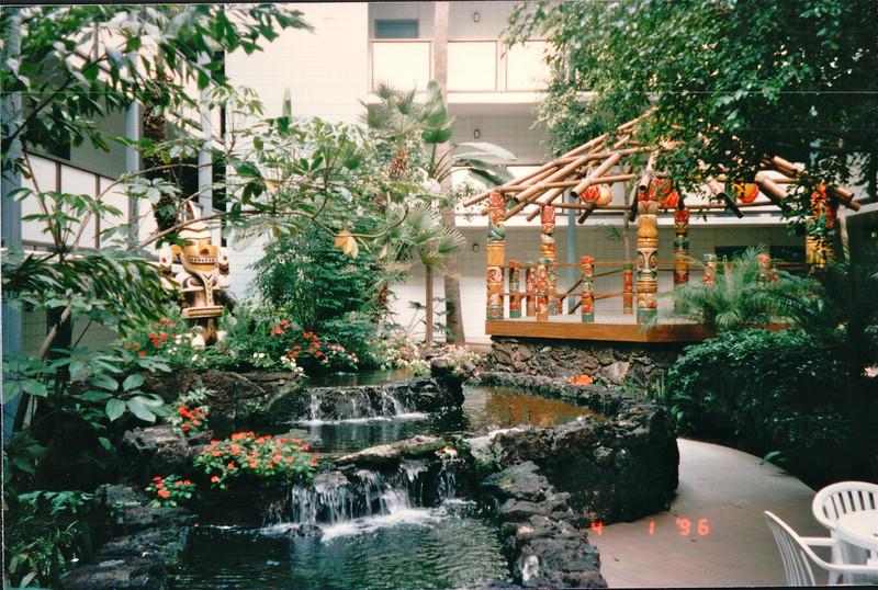 WaterfallsScenes Around Hotel - Hanalei Hawaiian Hotel, San Diego, CA  4-1-96